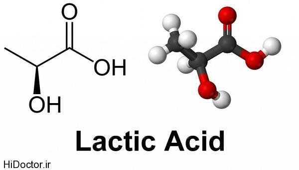 تفاوت اسید لاکتیک