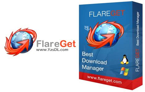 FlareGet 4.8.108 – نرم افزار مدیریت و افزایش سرعت دانلود فایل ها