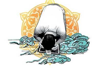 نماز خواندن در هوای غبار الود
