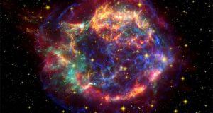 مراحل انفجار ستاره ها تا تبدیل شدن به سیاه چاله