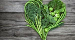سبزی هایی که برگ سبزی دارند قلب را سالم نگه میدارن