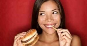 چگونه غذای چرب بخوریم ولی چاق نشویم